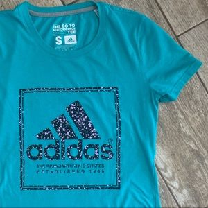 adidas climalite The Go To Performance Tee GUC
